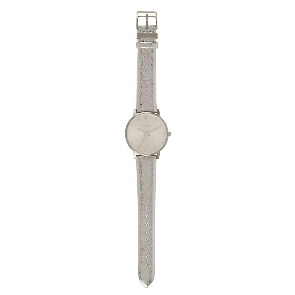 8c754e5e Pilgrim klokke Cheyenne sølv | Nettbutikk - Jewelbox.no