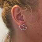 Wild at heart gold earrings thumbnail