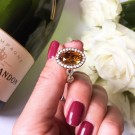 Lively ring topaz rose thumbnail