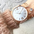 Taylor bracelet clear/rose gold thumbnail