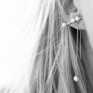 Freshwater Pearl Earstud Trio Gold thumbnail
