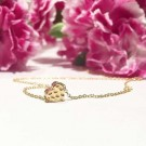 Little Heart Necklace Gold thumbnail