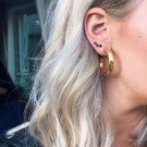 Syster P Bolded hoop earring thumbnail