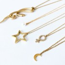 Nova Necklace Long Gold thumbnail
