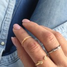 Ring Elie plated gold thumbnail