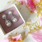 Sofia earrings pearl creme thumbnail