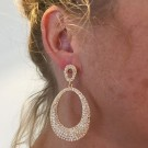 Gold fever earrings thumbnail