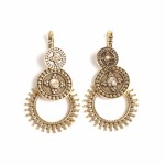 A&C Sandy beach big earring