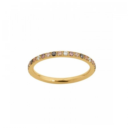 Edblad Glow ring multi mini gold