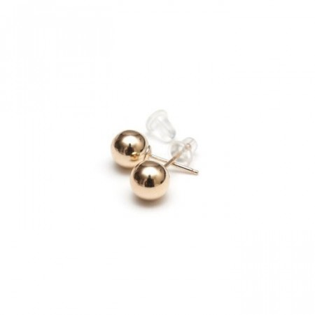 Gold studs 7 mm