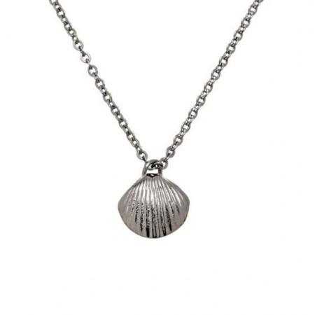 Shell Necklace Steel