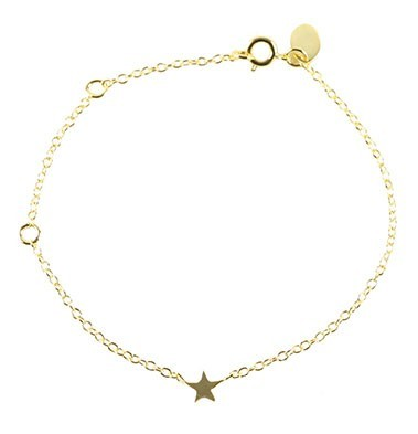Cooee Star Gold Plated Bracelet