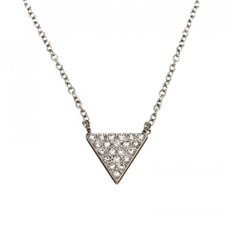 Mountain Necklace Short Steel