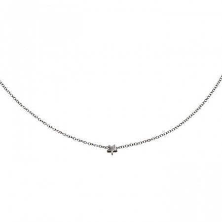Star Necklace Mini Steel
