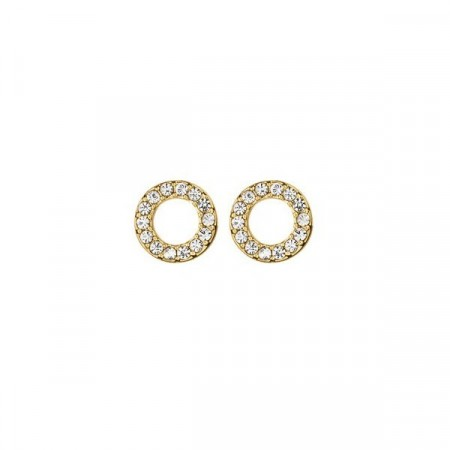 Dyrberg/Kern Koro Crystal Gold Earrings