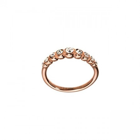 Valence Ring Line Rose Gold