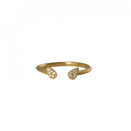 Ring Elie plated gold
