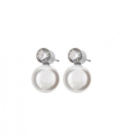 Luna Studs Large Steel
