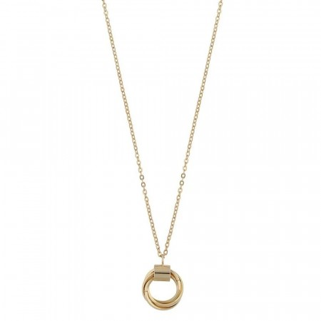 SNÖ Saint Tropez small pendant necklace gold