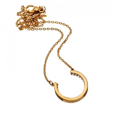 Monaco U-necklace small gold