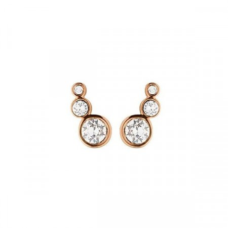 Dyrberg/Kern Lini rose gold earrings