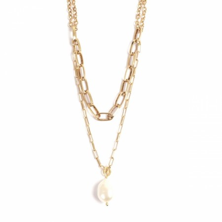 A&C double necklace Freshwater pearl