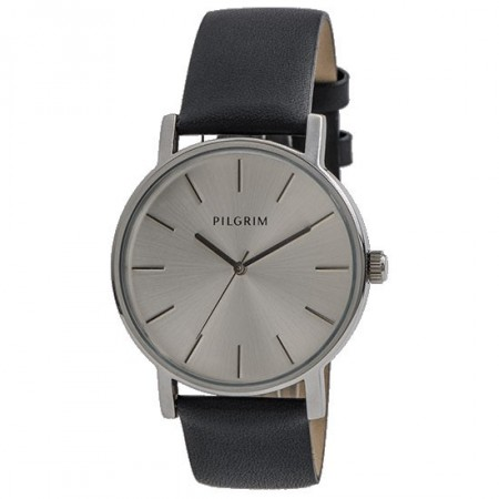 PILGRIM Unisex Watch Black/Silver