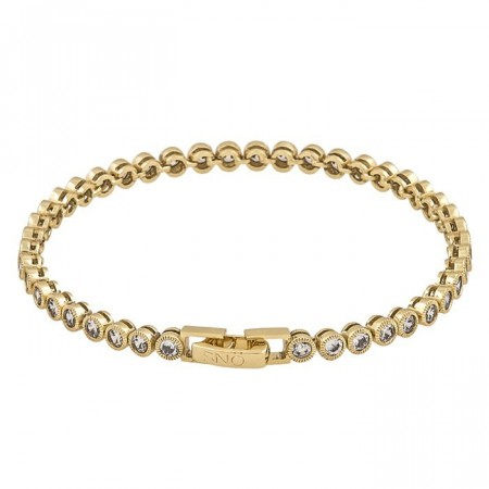 Miranda small bracelet gold/clear