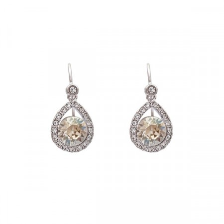 Emmylou earrings crystal