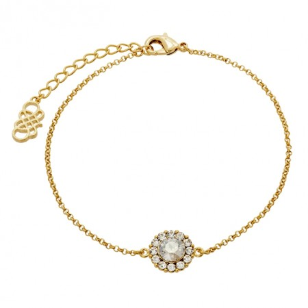 Lily and Rose armbånd Celeste gold/crystal