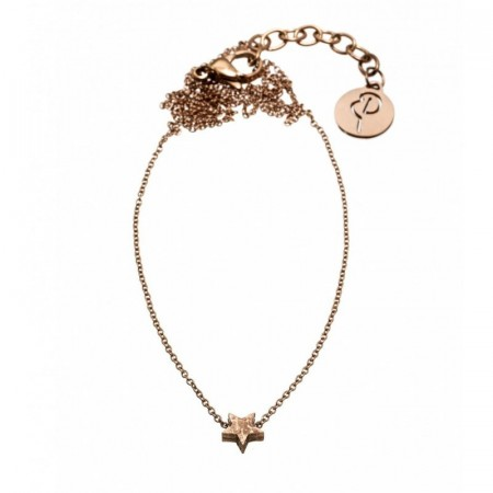 Little Star Necklace Rose Gold