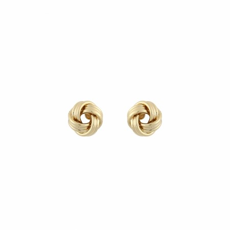 SNÖ Knot small earring gold