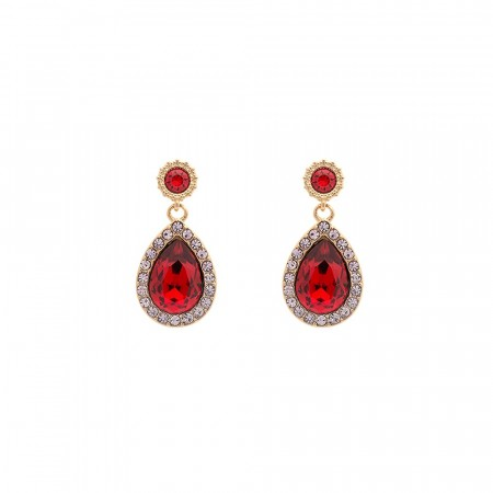 Miss Amy earrings scarlet