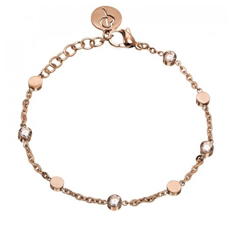 Belle Uno Bracelet Multi Rose Gold