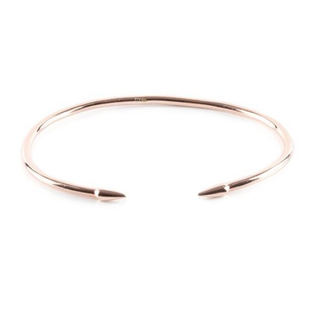 COOEE Spike cuff red gold plated 18k