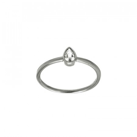 Little Drop Ring Silver