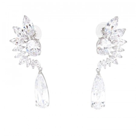 Guro earrings clear