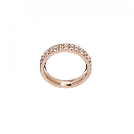 Glow ring double rosegold