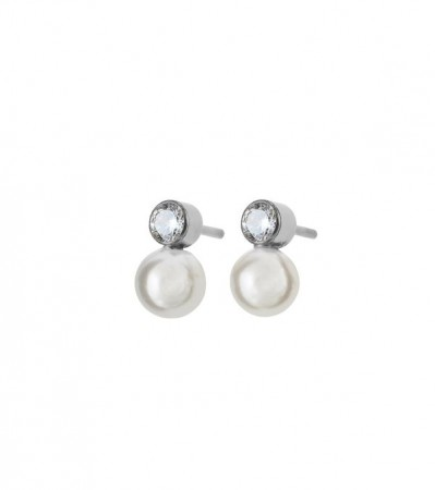 Luna Studs Small Steel