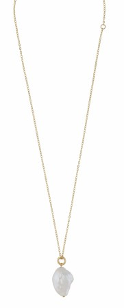 SNÖ Maxime pearl necklace gold/white