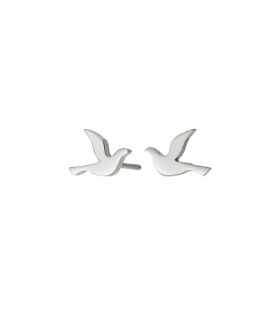 Dove studs small steel