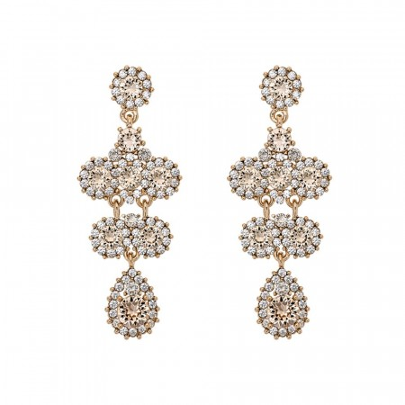 Miss Kate earrings champagne