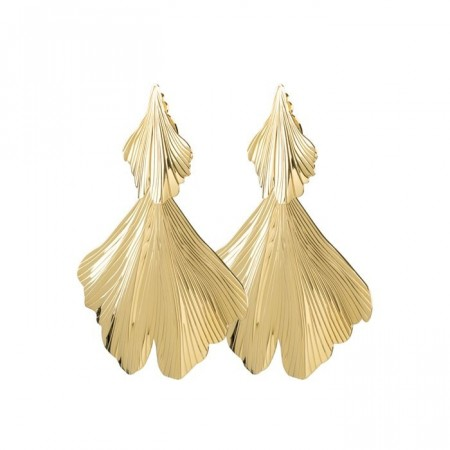 Dyrberg/Kern Drika earrings shiny gold