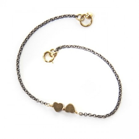 Zoë Double love bracelet