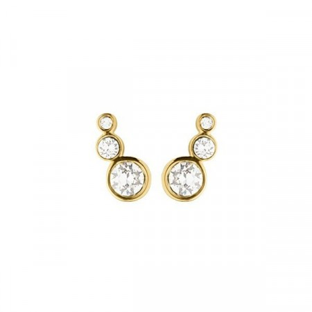 Dyrberg/Kern Lini gold earrings