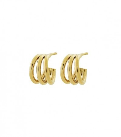 Edblad Echo earrings small gold