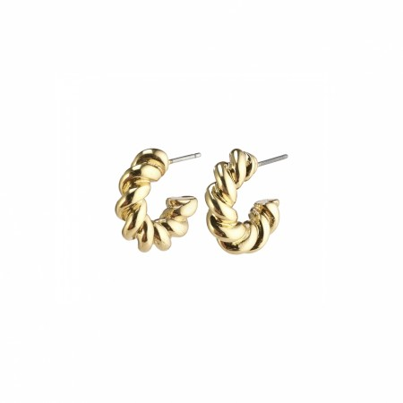 Pilgrim Gabrina hoops gold plated