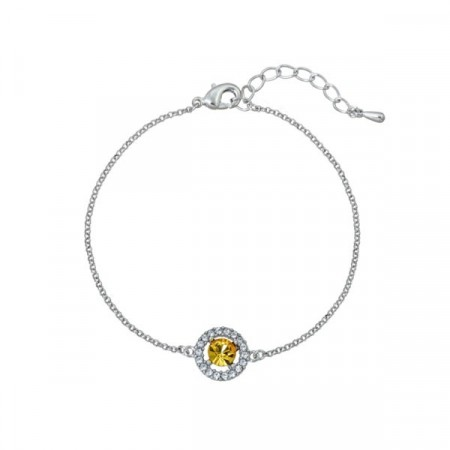 Miss Miranda bracelet light topaz