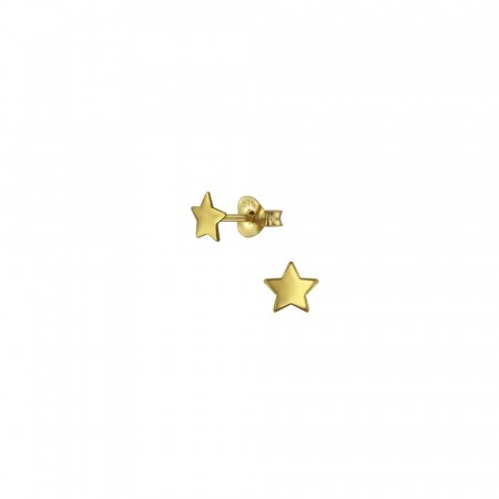 14K gullbelagte Be a star mini earrings