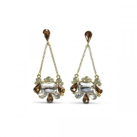 Helena earring golden